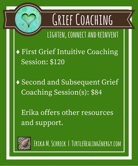 Grief Coaching and Grief Support with Erika M. Schreck