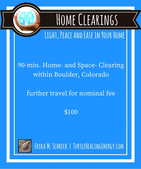 Home and Space Clearings with Erika M. Schreck