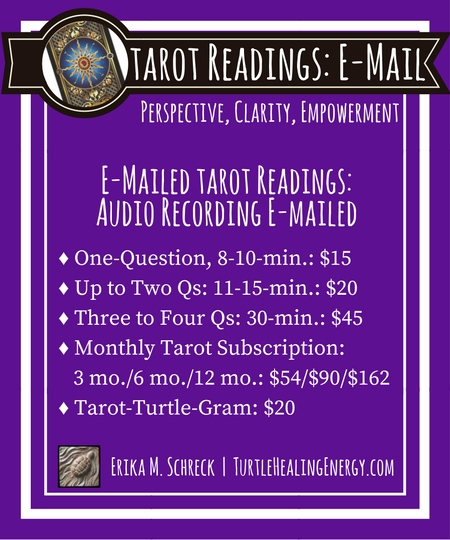 E-mail Tarot Readings with Erika M. Schreck