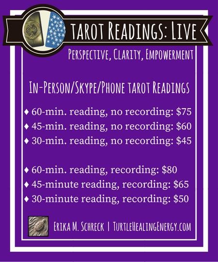 Tarot Readings with Erika M. Schreck