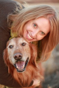 Erika M. Schreck and Beloved Harley © Angie Barnes Photography